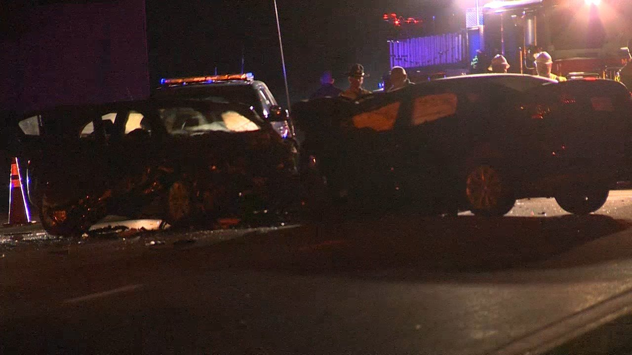 Taunton man, Middleboro woman dead after wrong-way crash