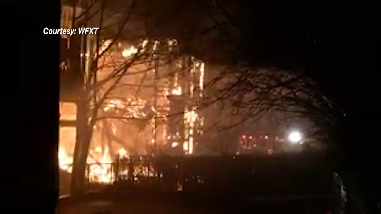 Crews battle 5-alarm fire in Rockland