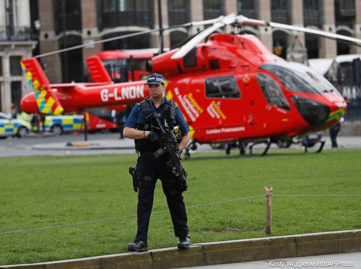 UK Parliament incident treated as terror attack