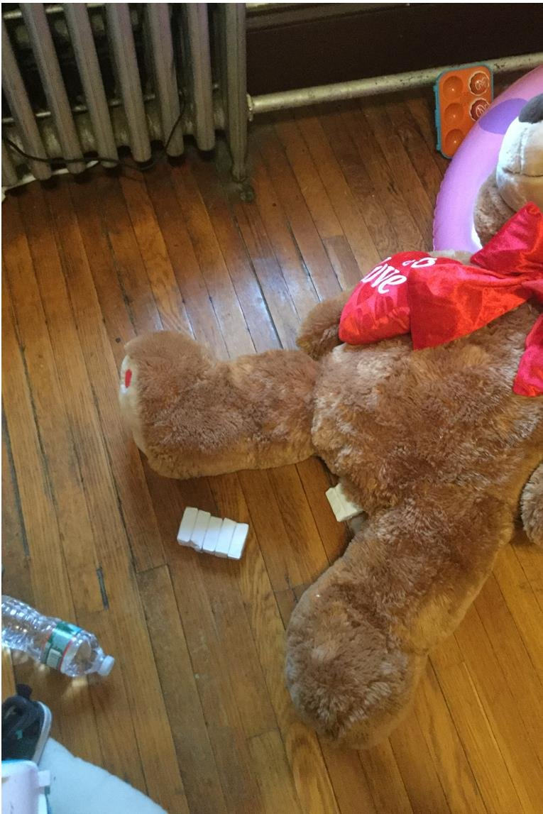 Police seize teddy bear stuffed with heroin