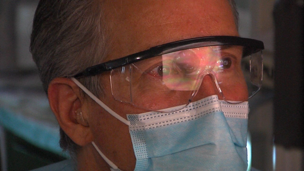 Legally blind doctor defies the odds