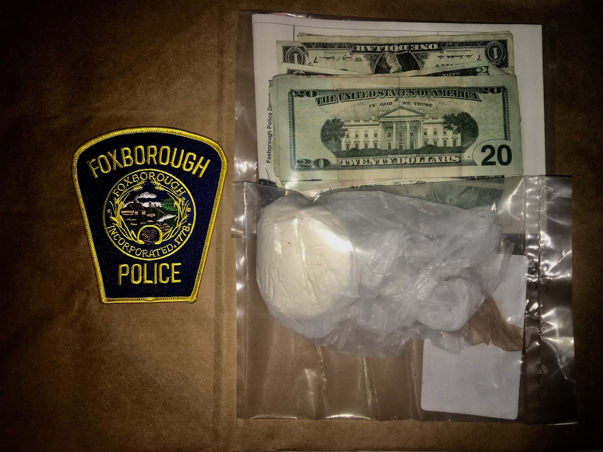 Courtesy of the Foxborough Police Department.