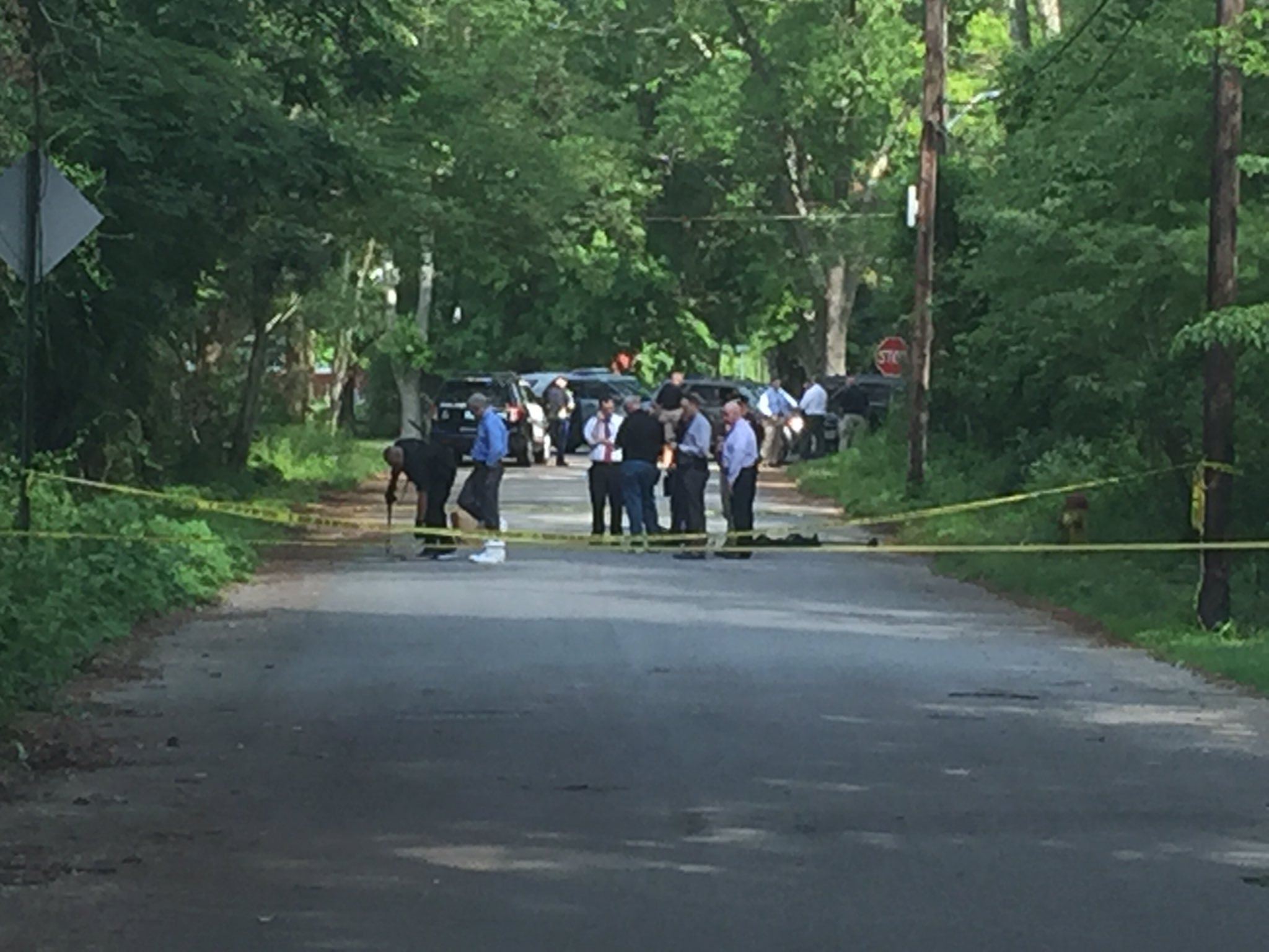 Burning Dead Body Discovered on Side of Attleboro, Mass. Road