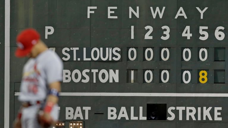 Red Sox turn first triple play in 6 years vs Cardinals