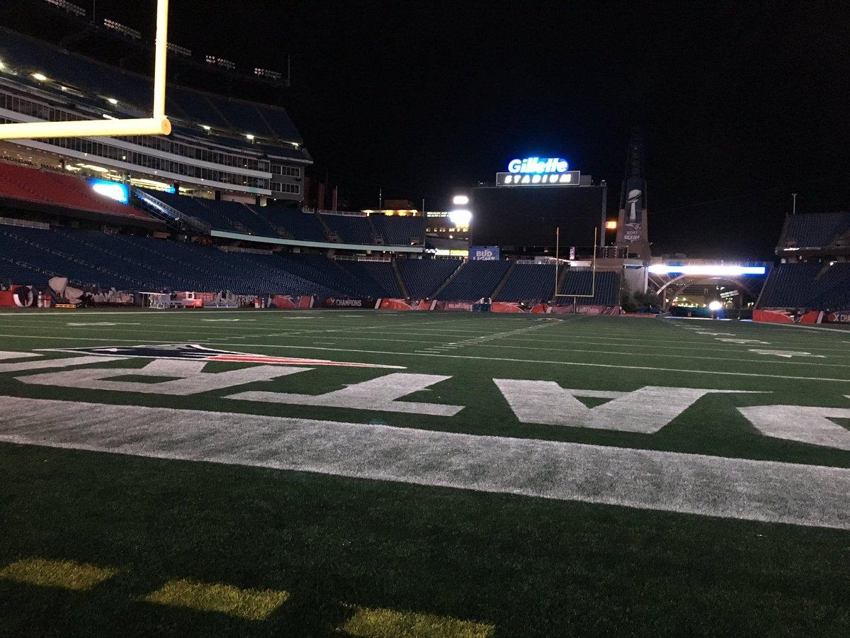 Patriots fans at Gillette Stadium likely won't see Roger Goodell Thursday night
