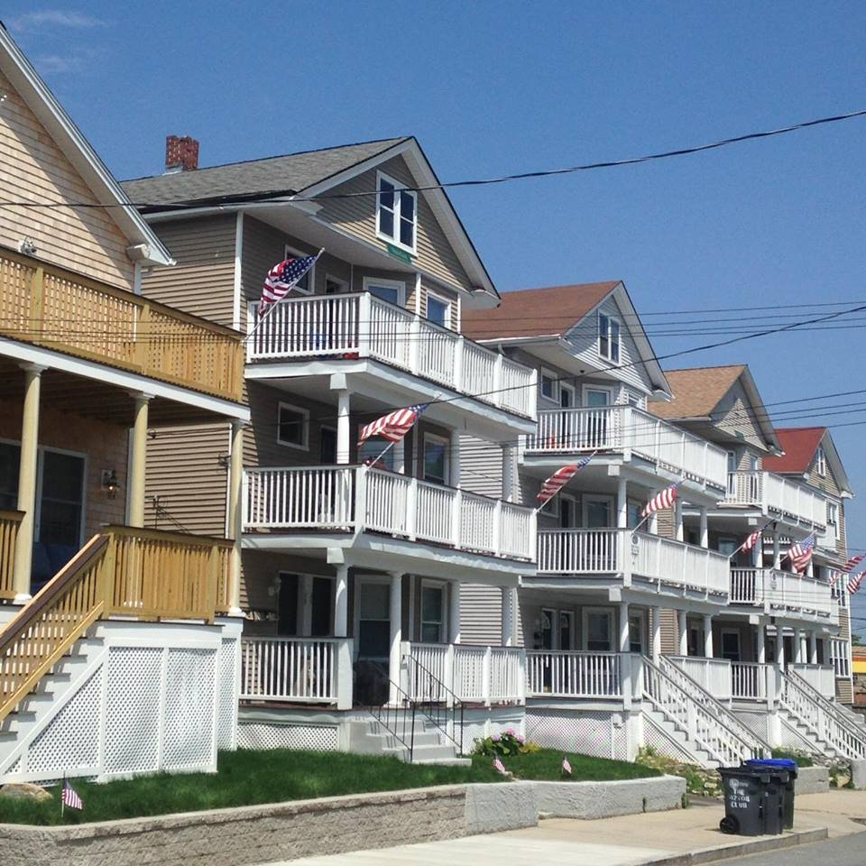 Eaton Street, a popular off-campus housing location for college students in Providence