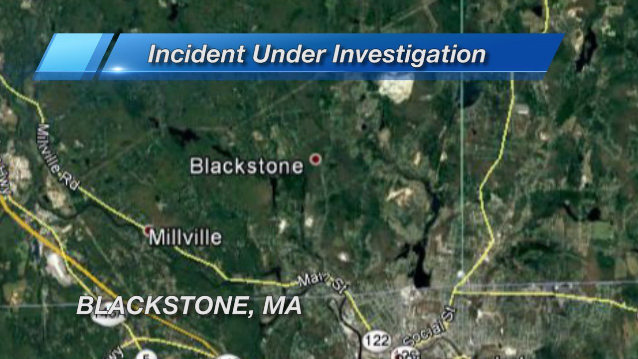 Pipe bomb explodes, damages vehicle parked at Blackstone home, police say