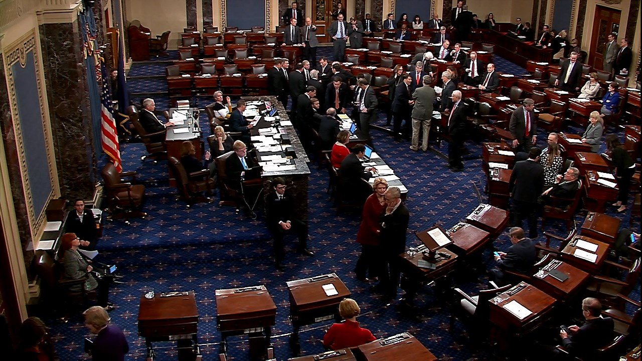 Senate Votes to End Government Shutdown