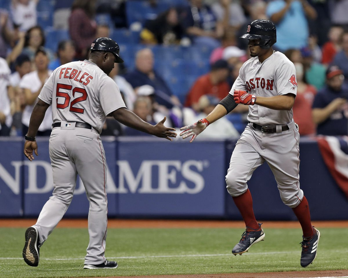 Bogaerts propels Red Sox again