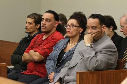 © Court pool photo of the Gonzalez family by the Providence Journal/Andrew Bickerman