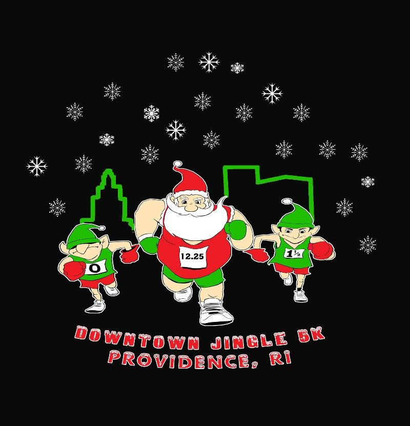 Photo Courtesy Facebook/Downtown Jingle 5K- Providence