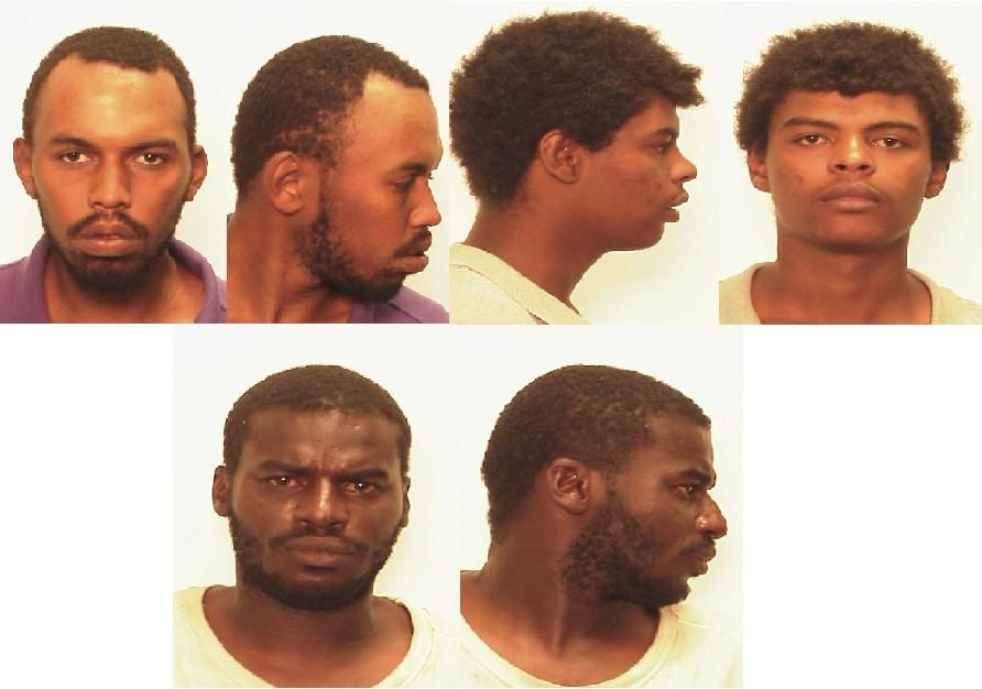 Top Left: Thomas Rose; Top Right: Jared Jackson; Bottom: David Durrett