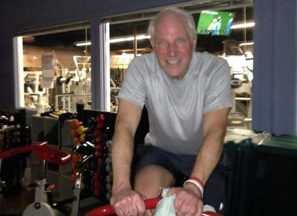 ABC6 Sports Director Ken Bell cycling for ALS