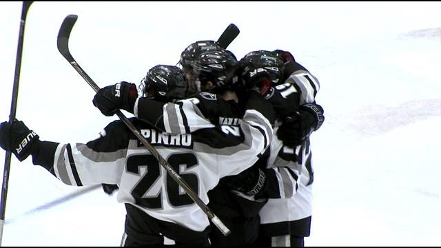 Providence Skates To 2-2 Tie With #2 Denver Friday Night (video)