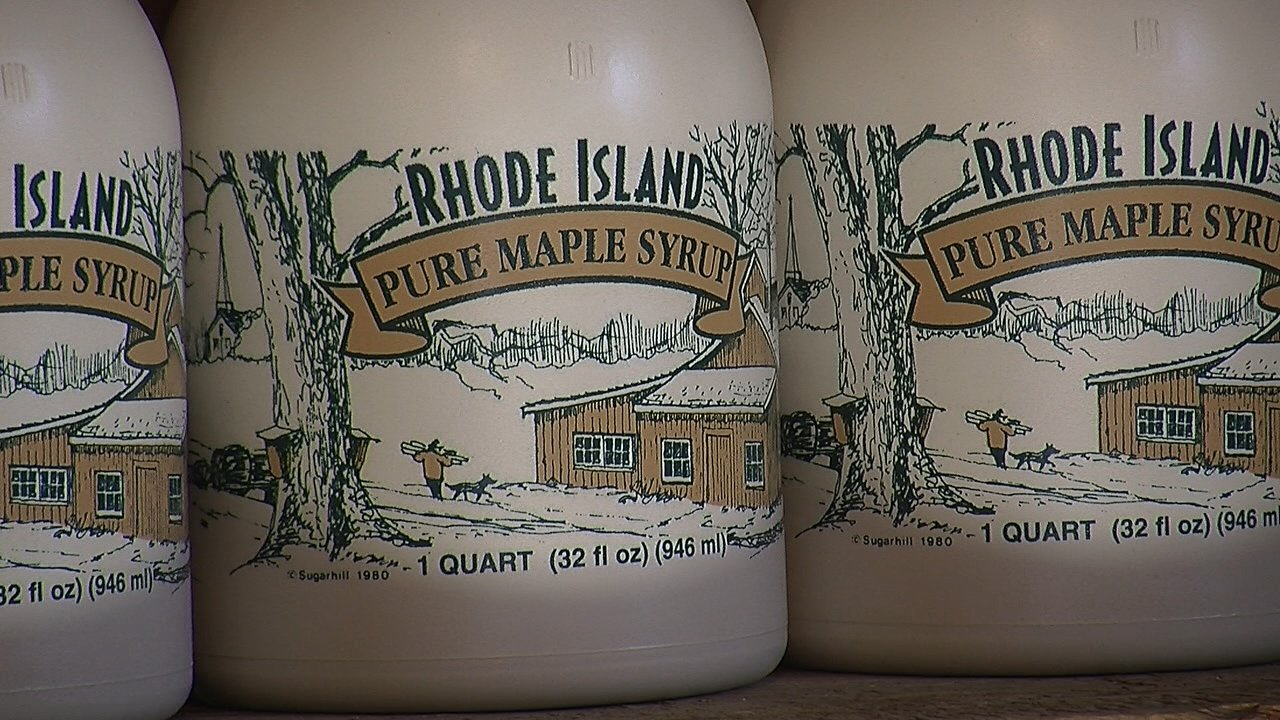 One of the best seasons for maple syrup in Rhode Island ...