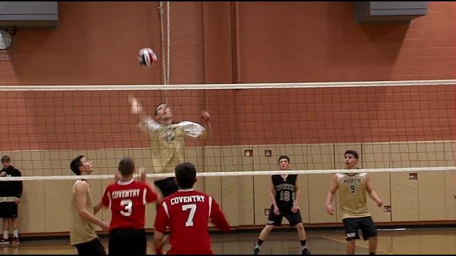 North kingstown takes down coventry in boys volleyball for Coventry federal plans