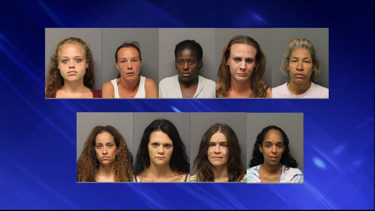 police arrest 13 in prostitution sting   abc6