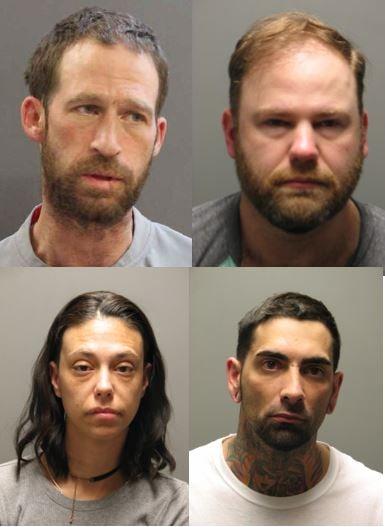 Warwick police arrest 4 on drug charges