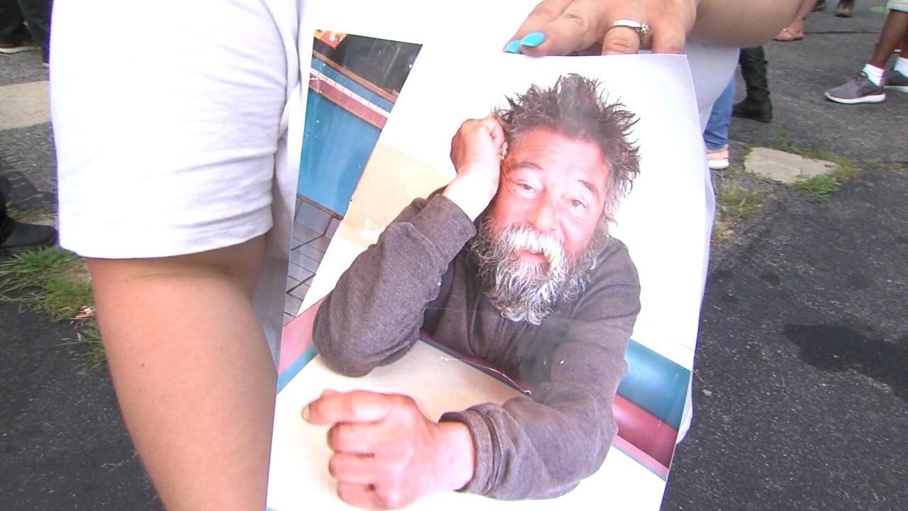 Vigil held for homeless man killed in Providence