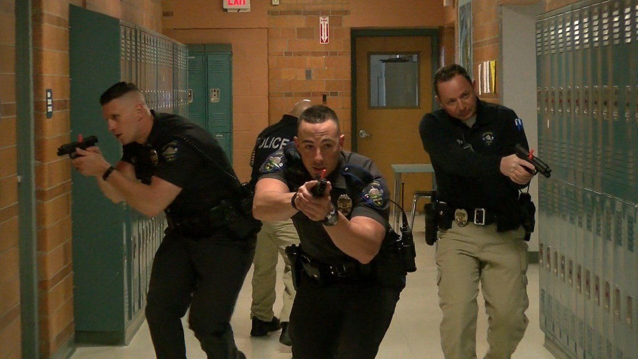 North Providence Police Host Active Shooter Detection and