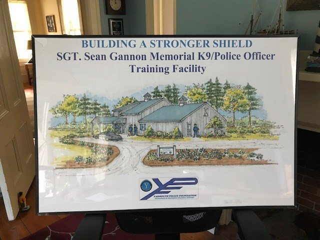Yarmouth police department opens training center for fallen
