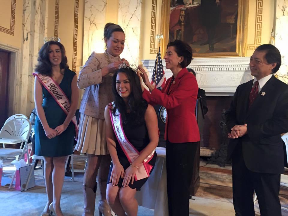 2015 Rhode Island Cherry Blossom Princess Crowned Abc6